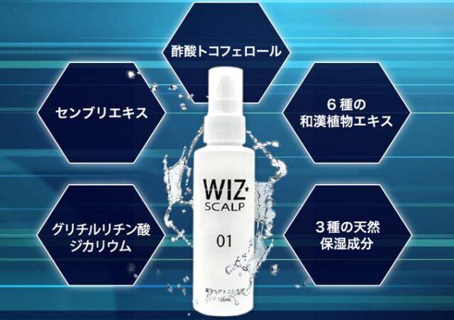 ウィズスカルプ01 WIZ SCALP01 特徴