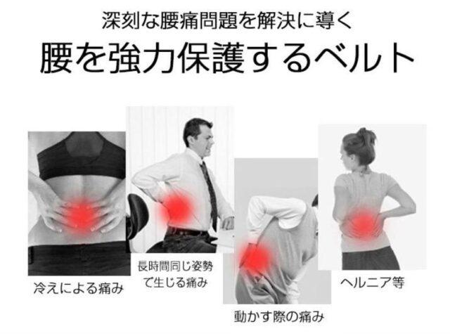 腰椎コシビシベルト